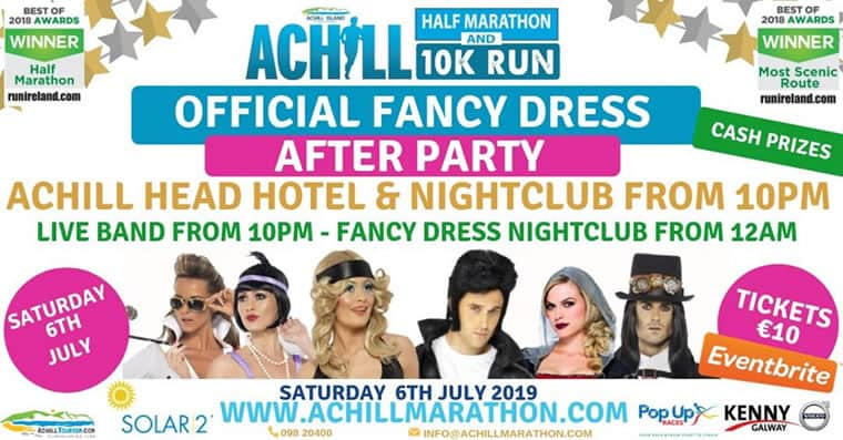 Poster for 2019 Official Fancy Dress After Party