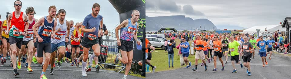 Start of Achill Half Marathon & 10K 2018