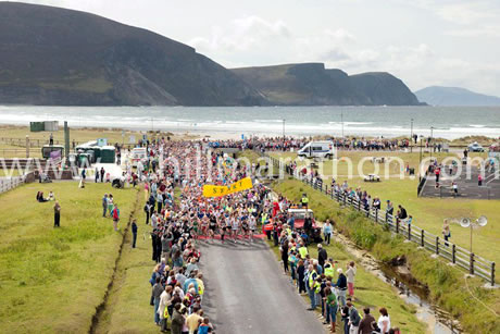 Start of 2013 Achill Half Marathon & 10K