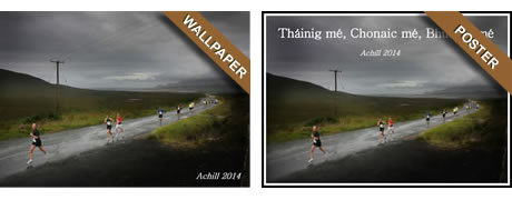Download Achill Half Marathon Wallpaper or Poster